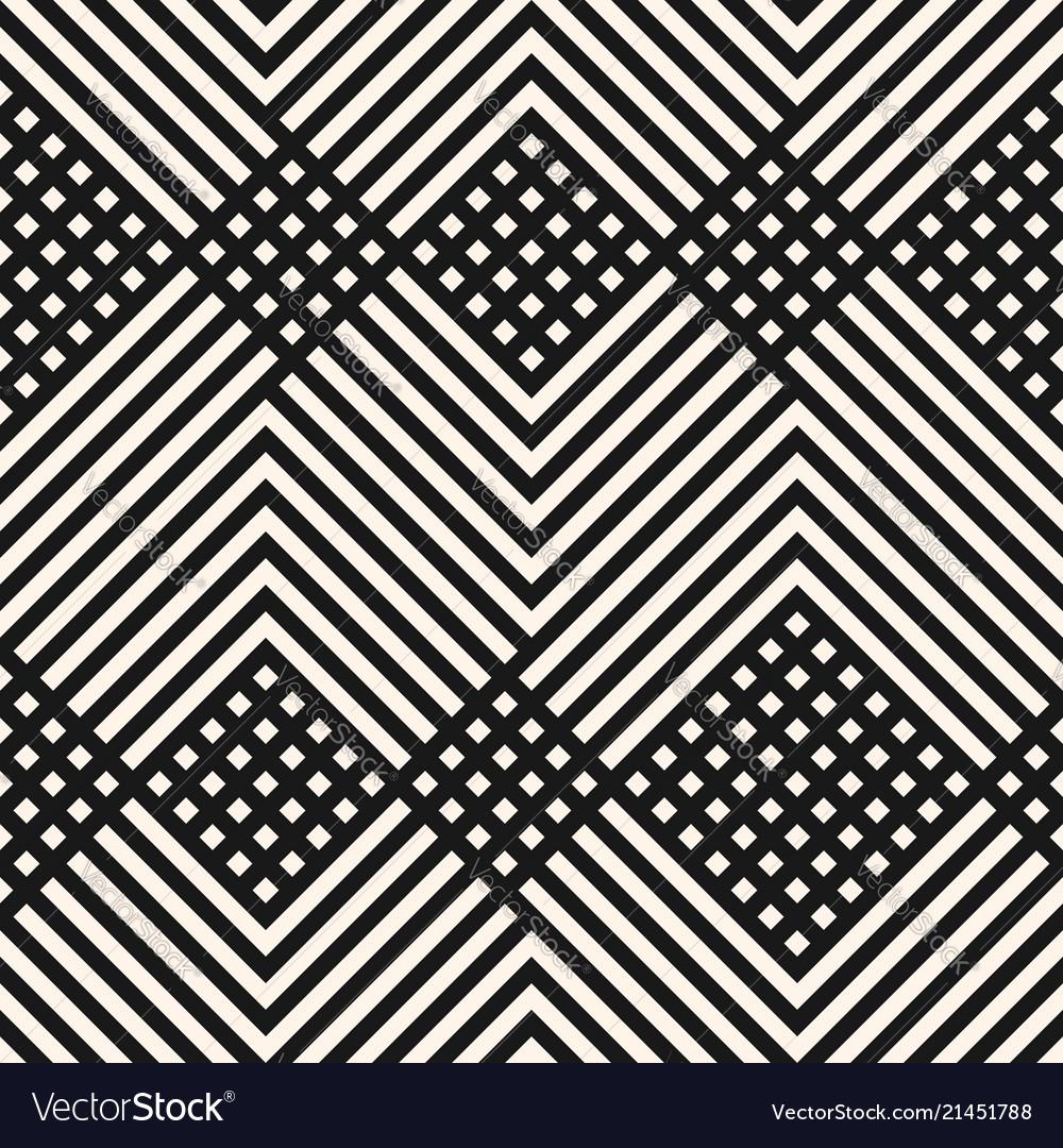 Monochrome geometric diagonal lines pattern