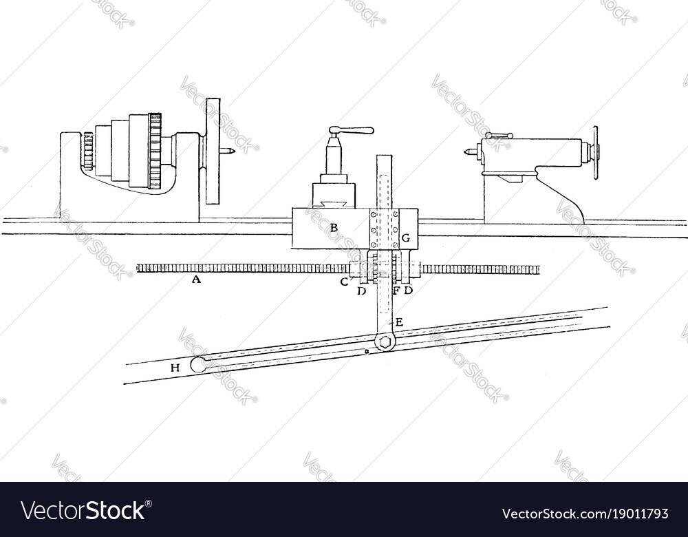 Universal screw cutting device vintage