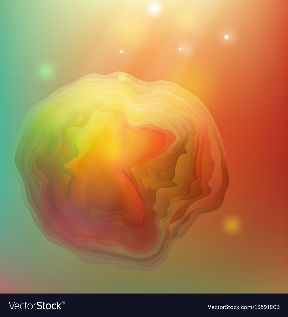 Abstract red and yellow background for design