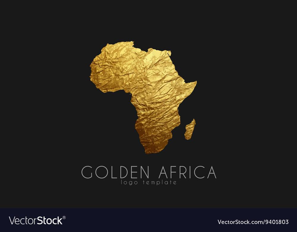 Africa Golden Africa logo Creative Africa logo