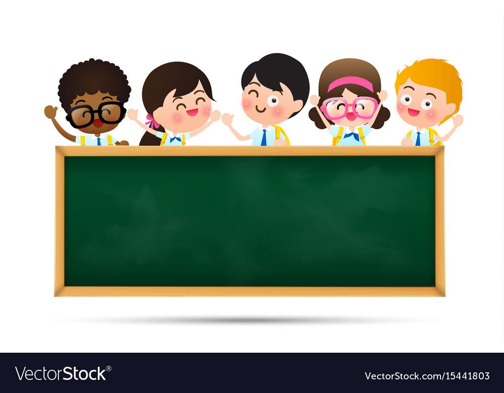 Back to school and education concept happy