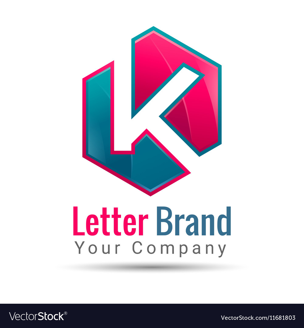 Letter k logo template business icon royalty free vector letter k logo template business icon vector image cheaphphosting Gallery