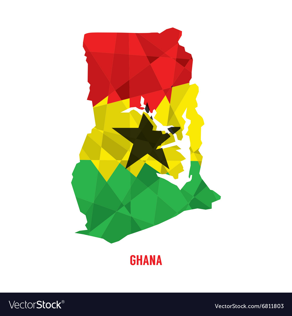 Map of Republic Of Ghana