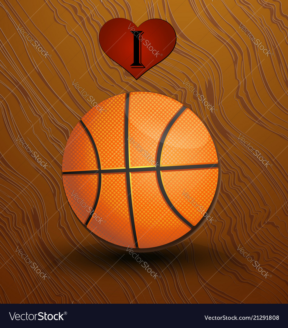 Love and basketball background