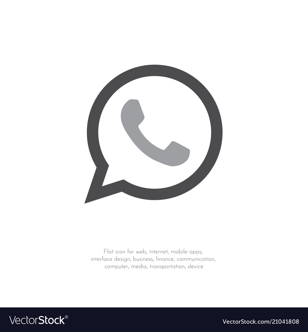 Phone icon web mobile flat design