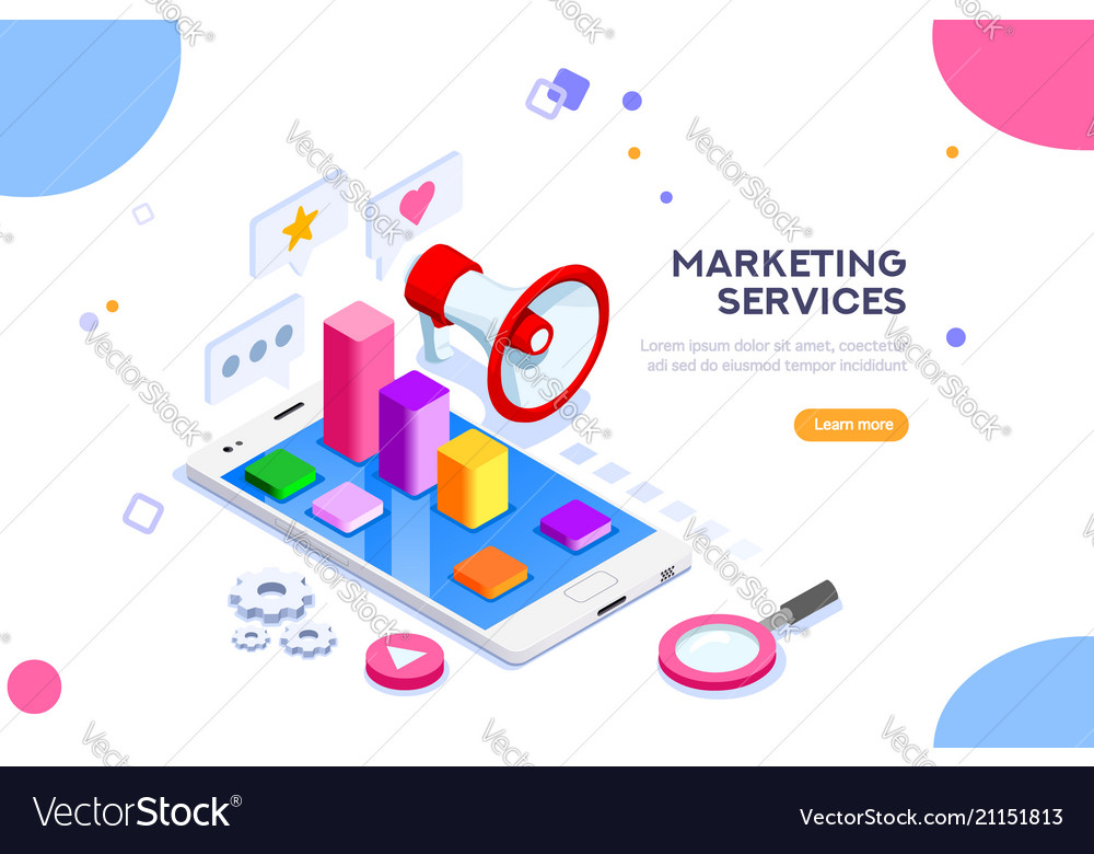 Agency and digital marketing concept