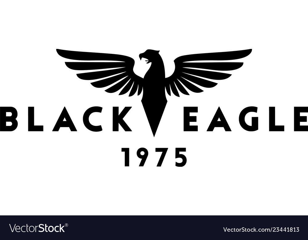 Black eagle logo design inspiration