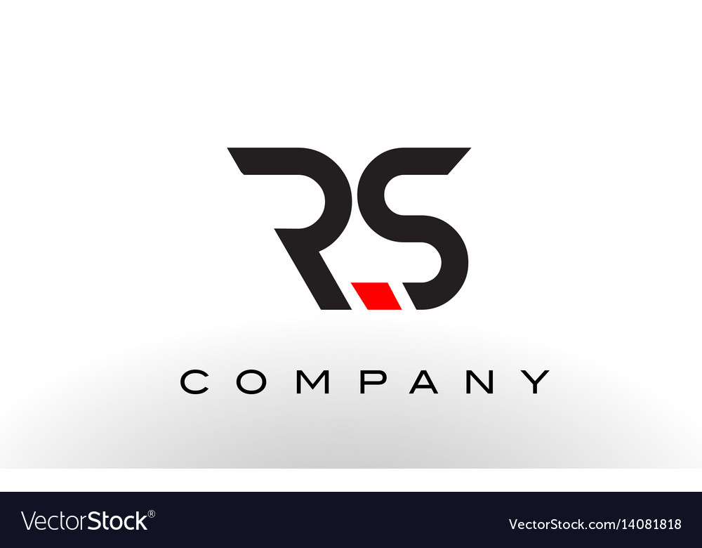 Rs logo letter design