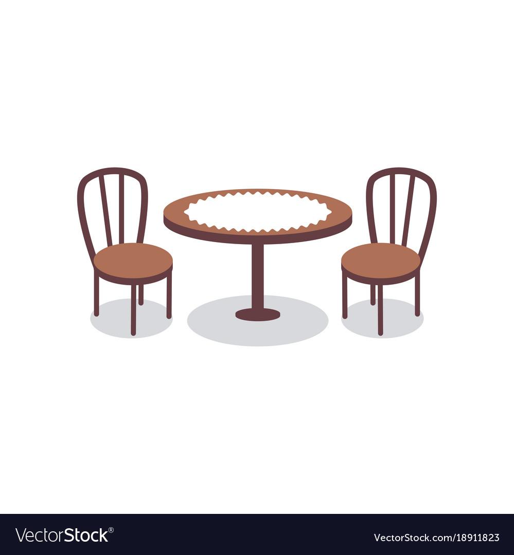 ensemble for table et chaises poupee benjo de two pour