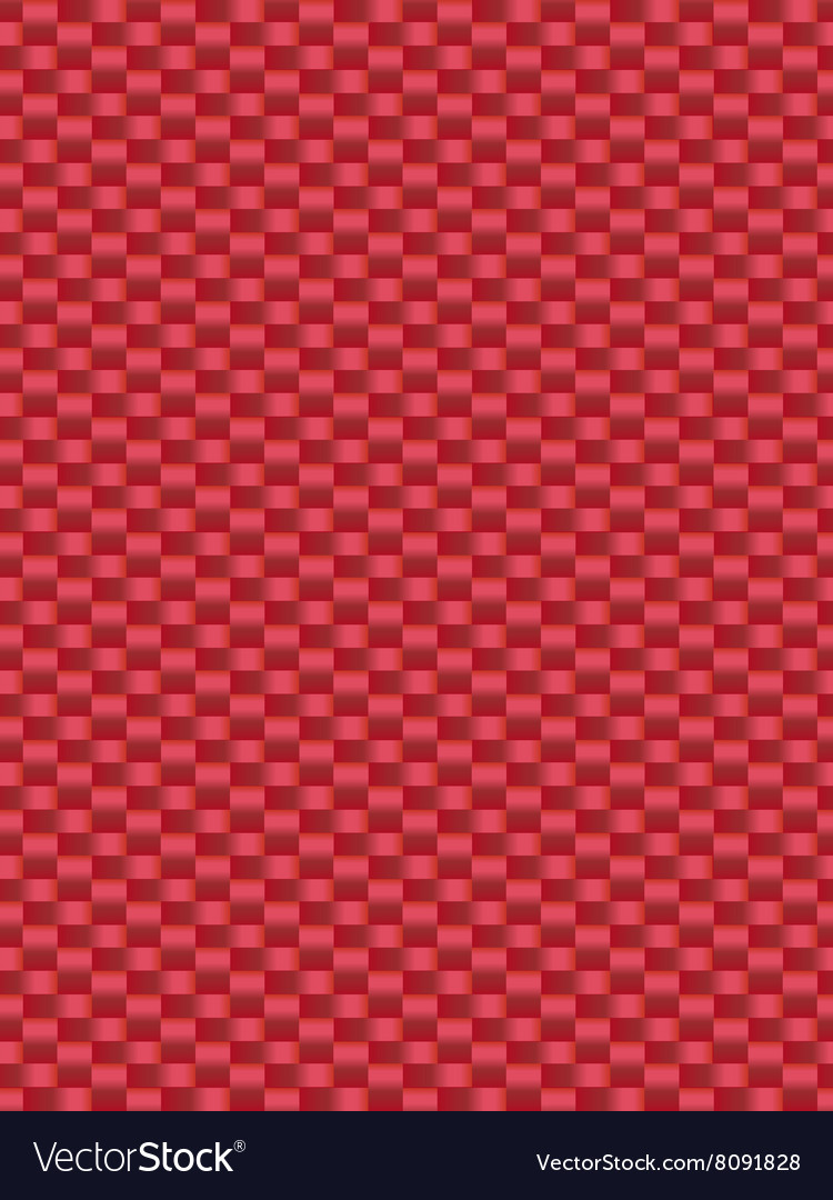 Red weave texture synthetic fiber geometric seamle