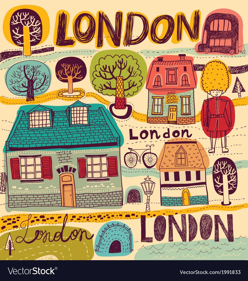 London sketch elements