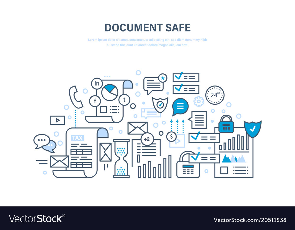 Document safe document security data protection