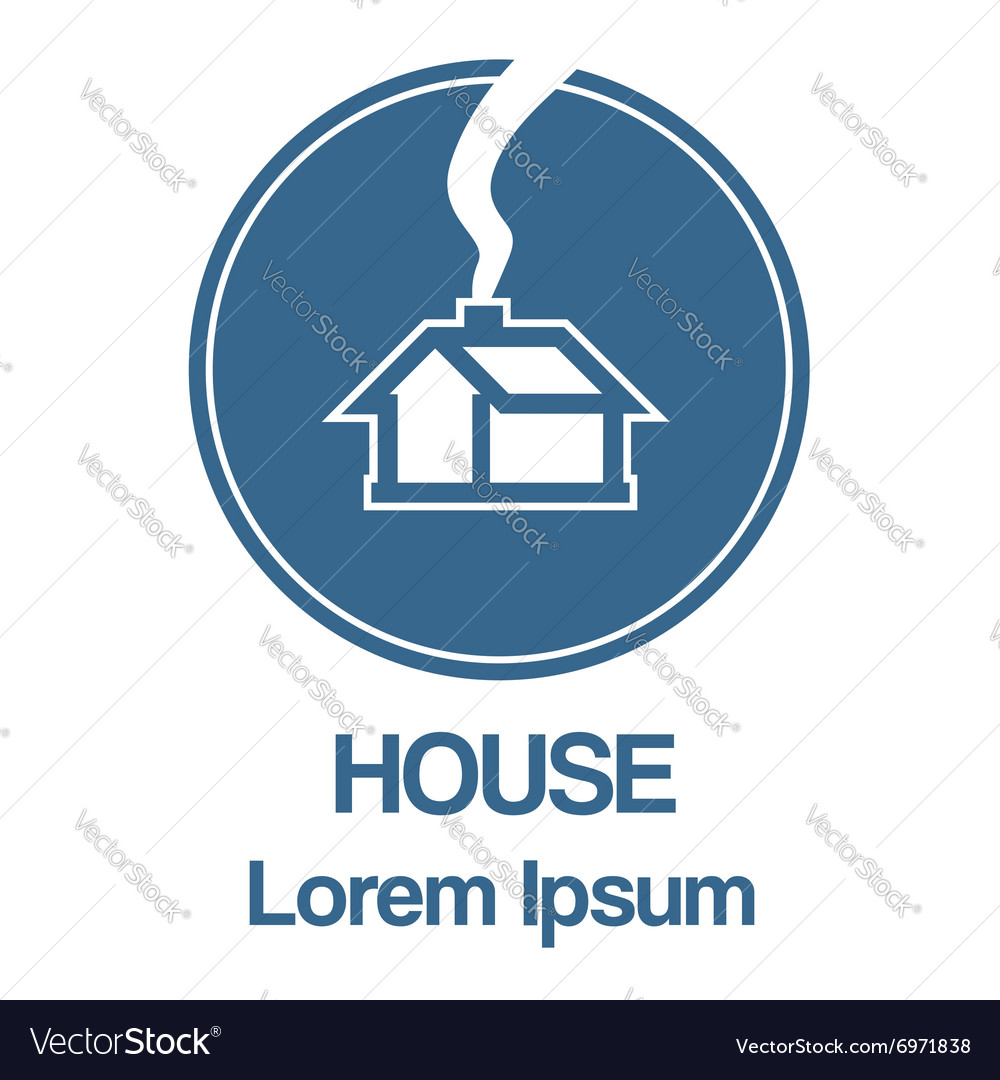 Home lorem ipsum vector image