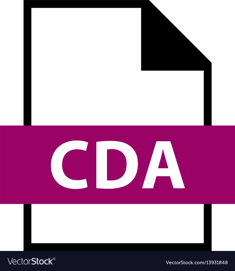 File name extension cda type