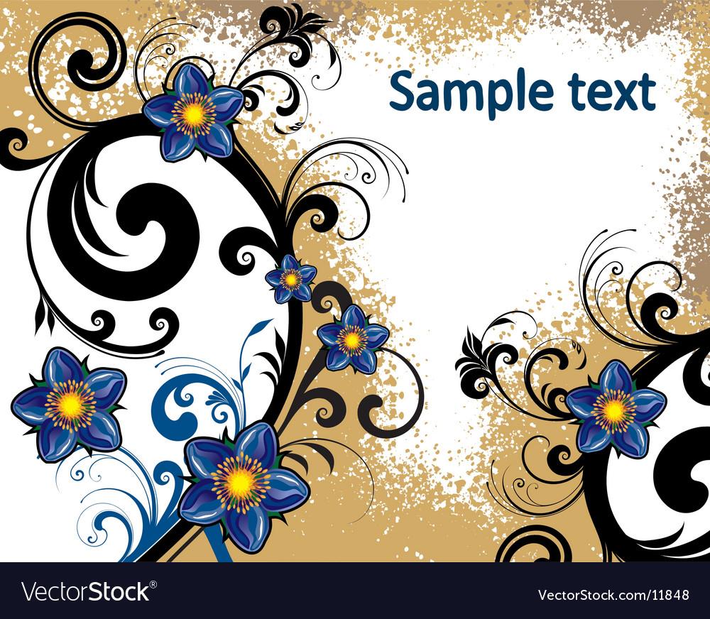 موضوع flowers background