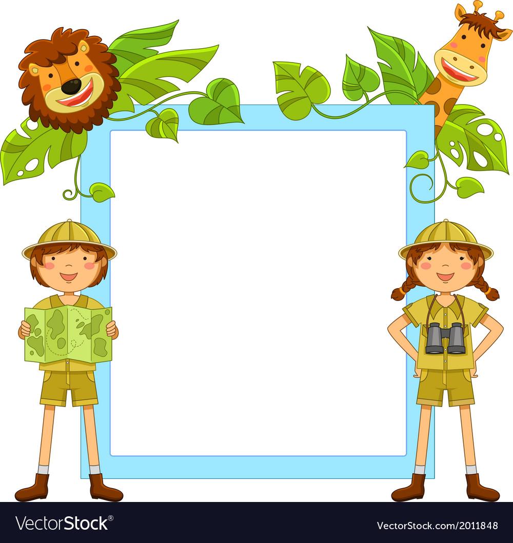 Kids in the jungle
