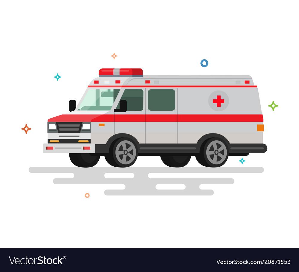 Flat ambulance
