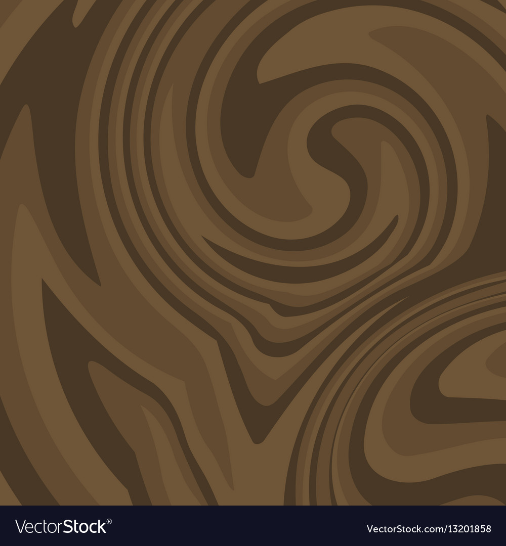 Flat Brown Wood Background Dark Wooden Texture Vector Image