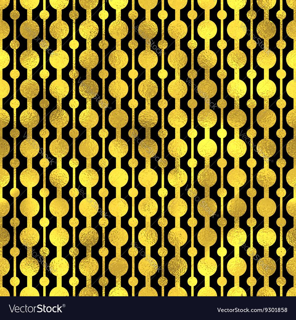 Seamless pattern Golden fashion background