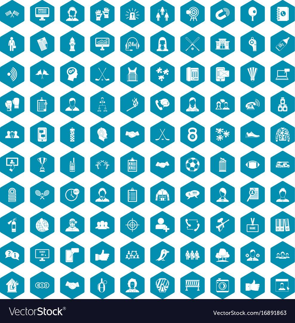 100 team icons sapphirine violet