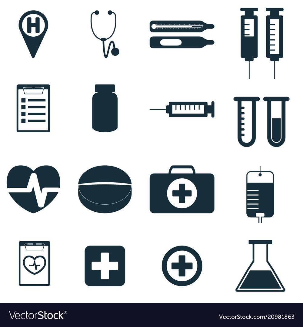 Medical signs set