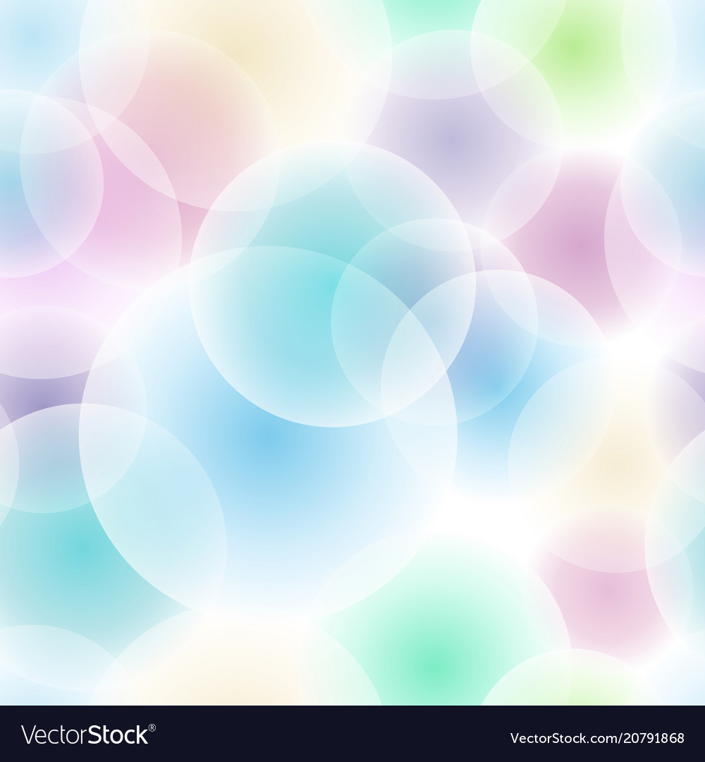 Abstract intersecting circles pattern