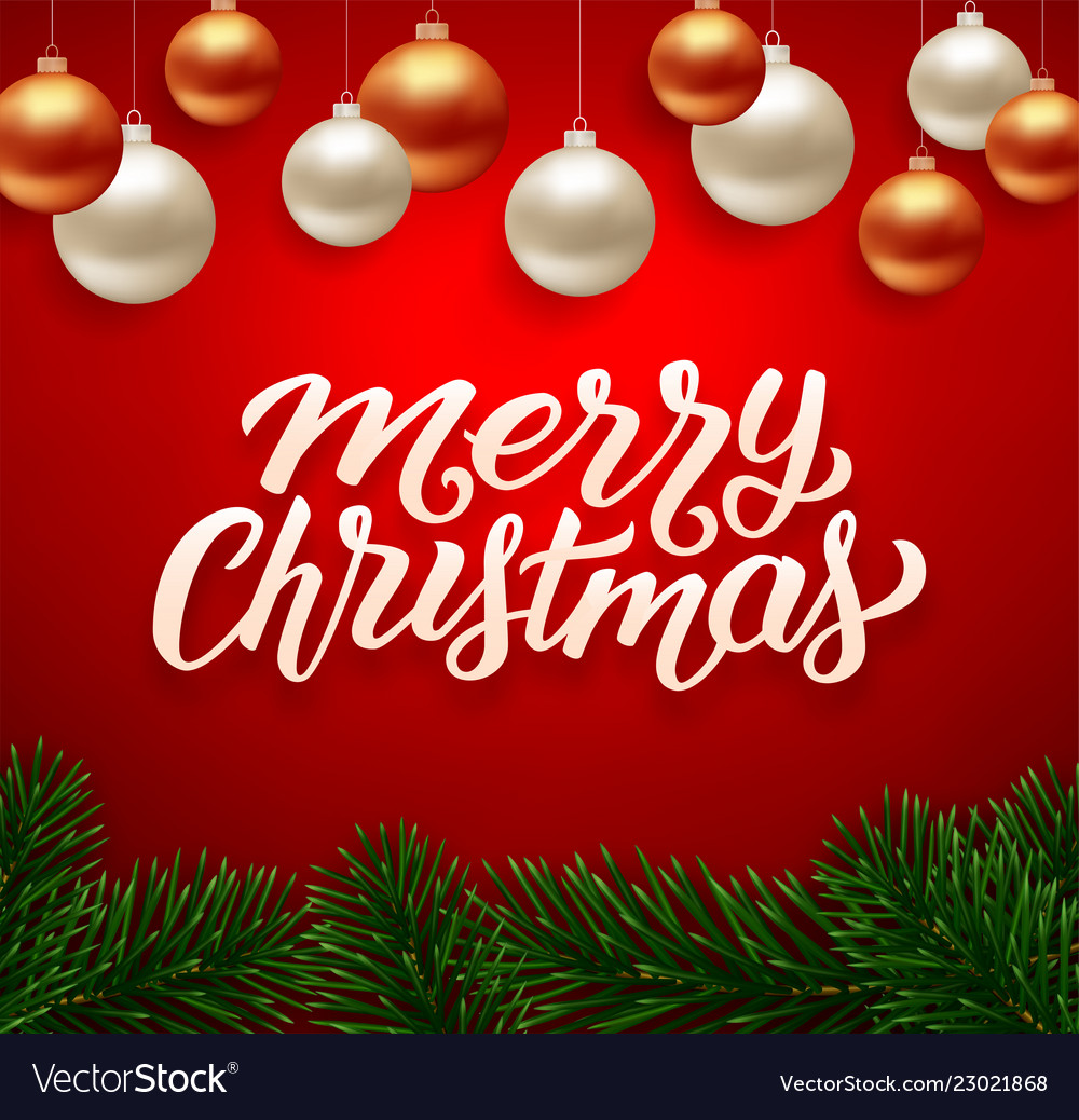 Merry christmas background greeting card