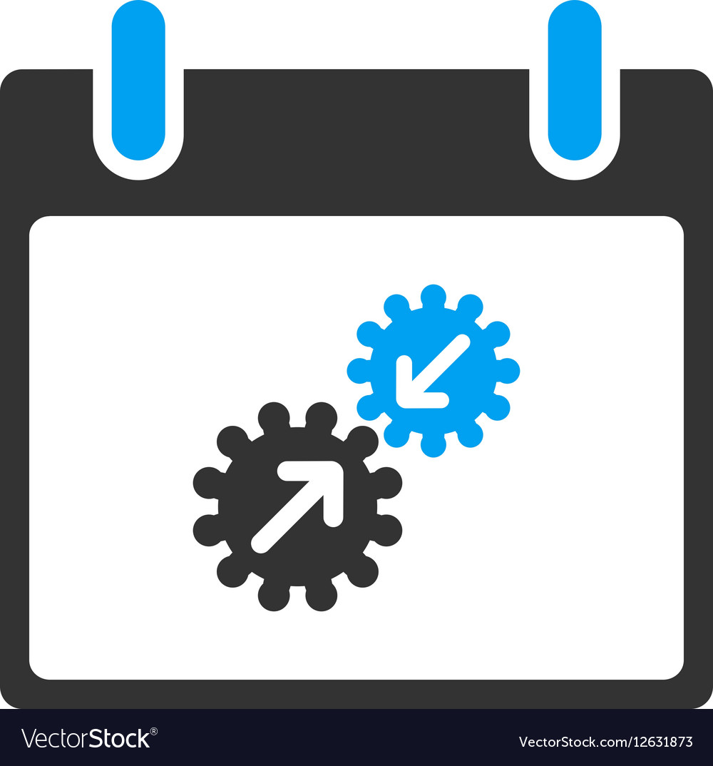 Gears Integration Calendar Day Toolbar Icon