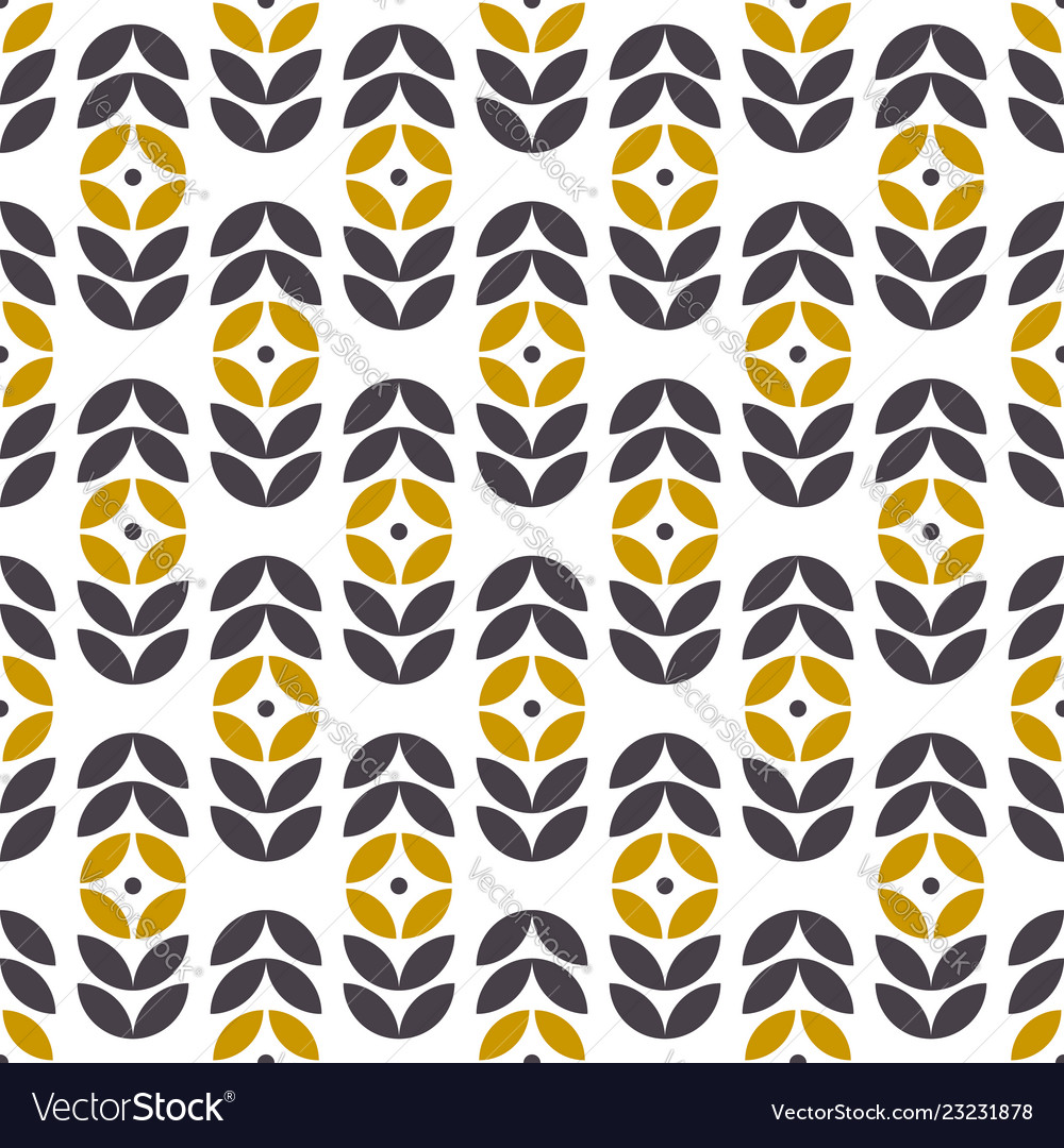 Abstract seamless geometric pattern in