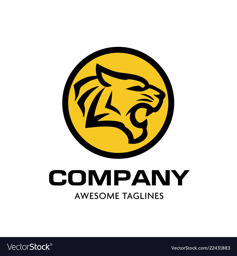 Tiger head logo concept