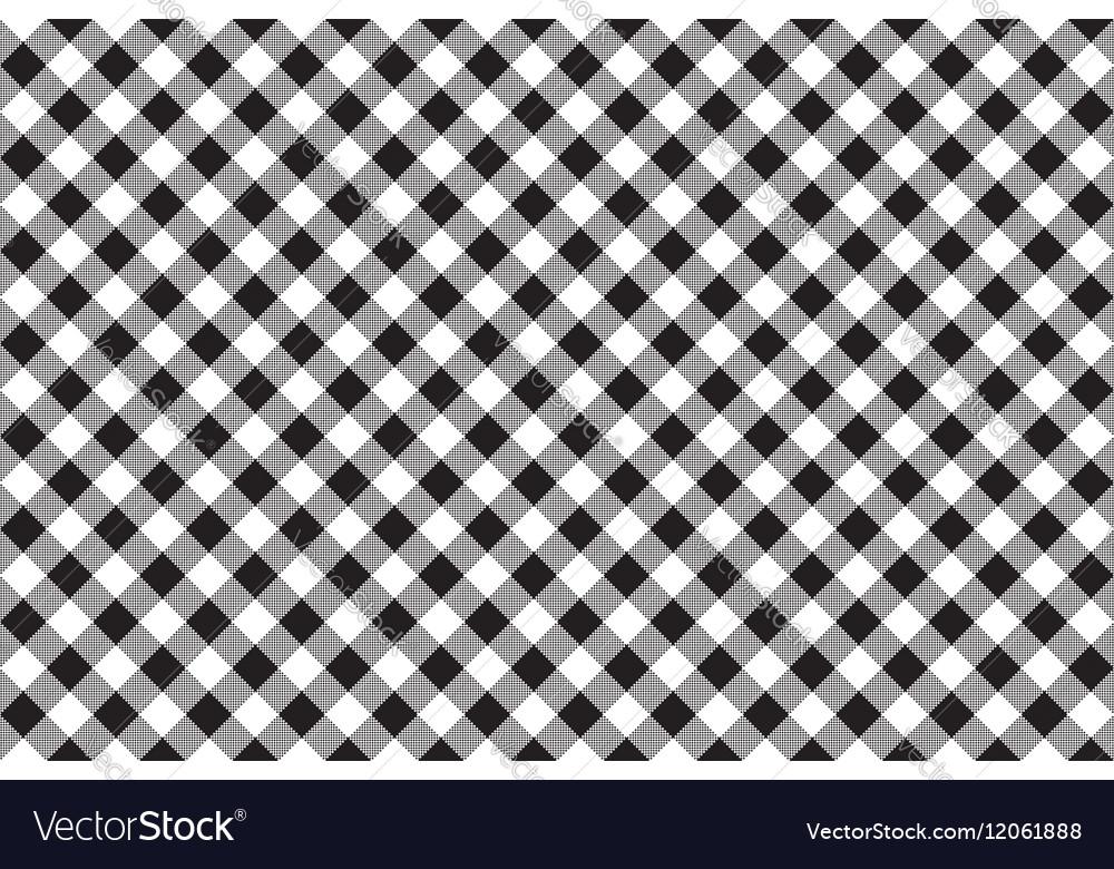 Black White Checkerboard Check Diagonal