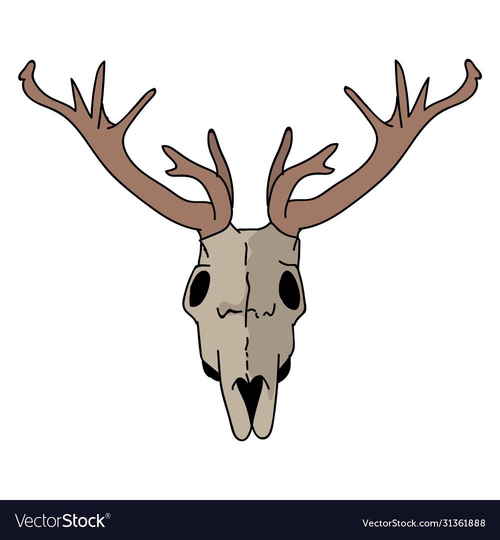 Stag Head Clip Art at Clker.com - vector clip art online, royalty free &  public domain