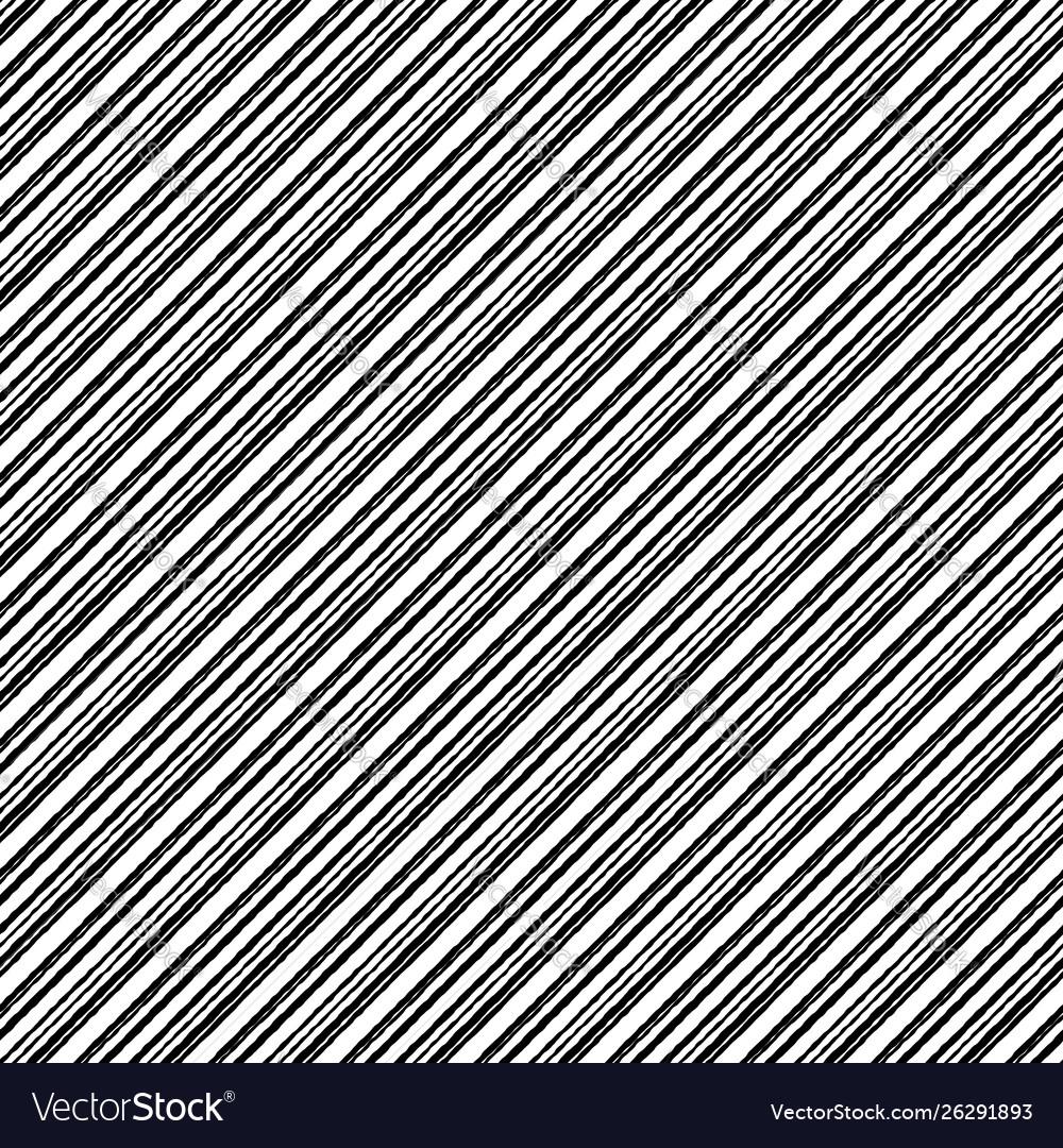 Black white striped rough grunge seamless pattern