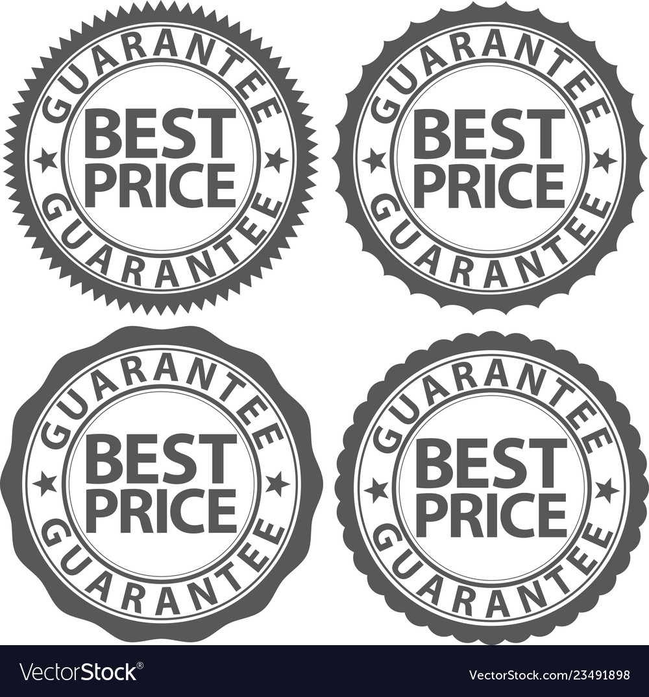 Best price guarantee sign set