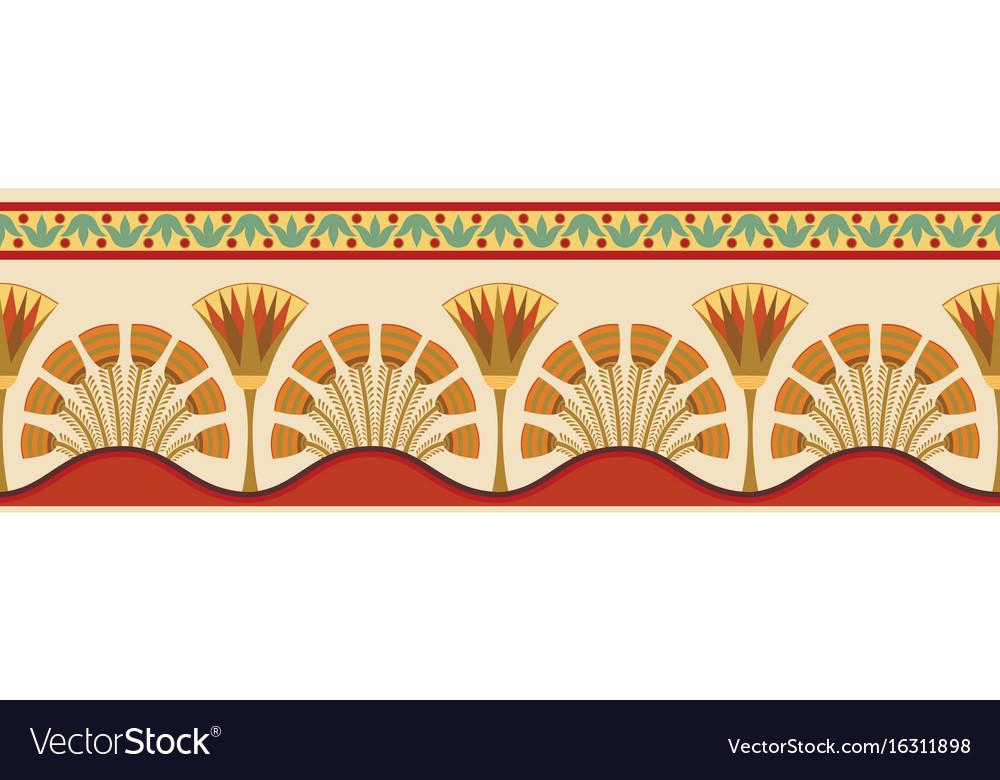 Egyptian national ornaments