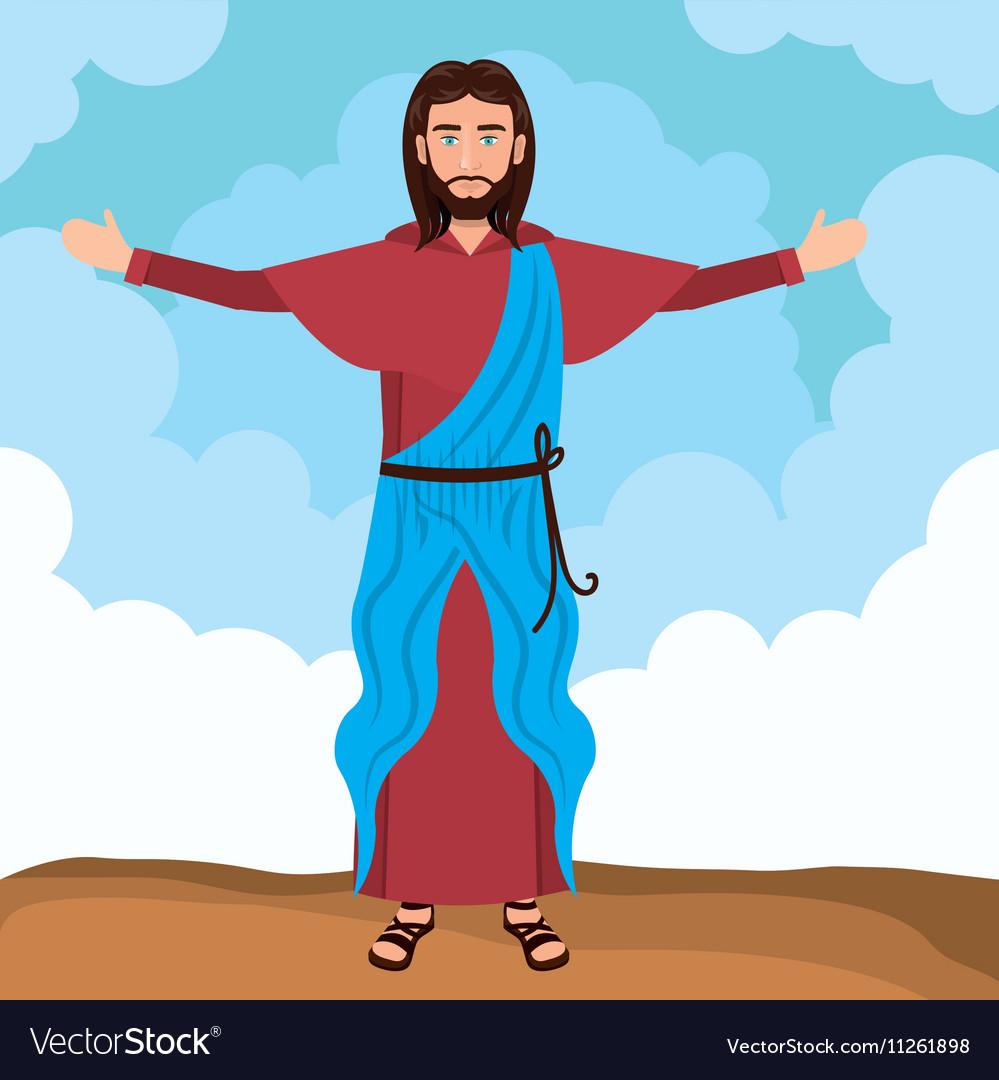 Jesus christ resurrected design