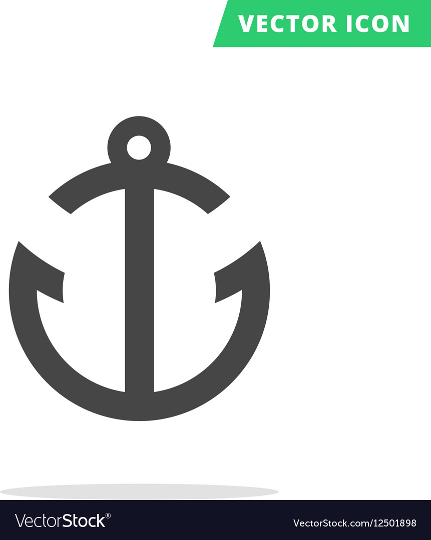 Ship anchor icon
