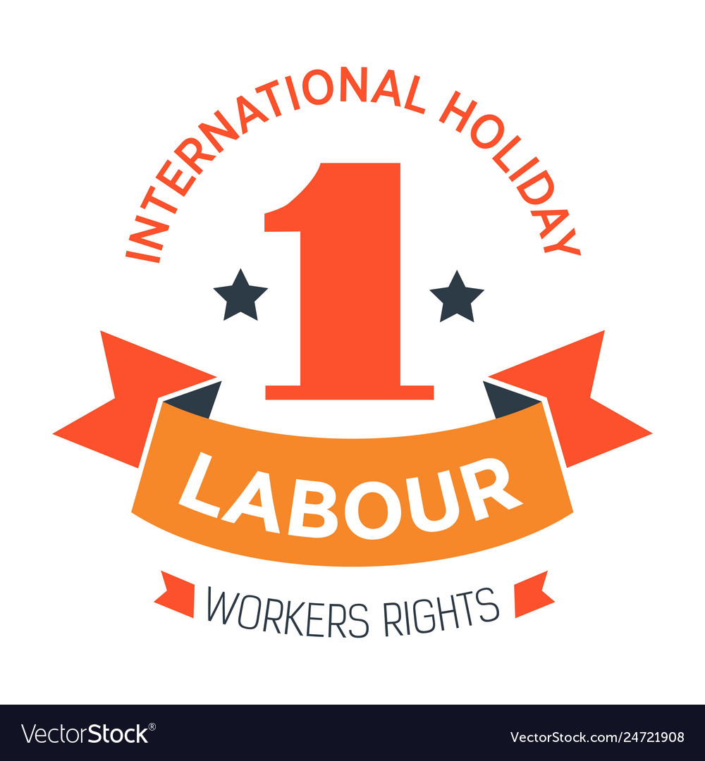 Labour day isolated icon workers rights
