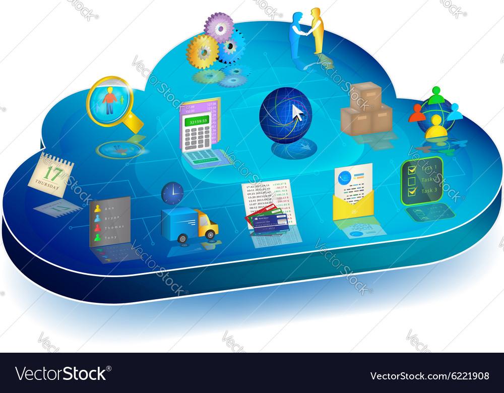 Online business process management in cloud