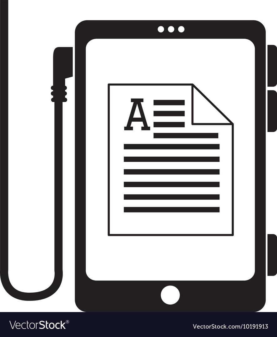 Reader Document Phone Electronic Book Icon