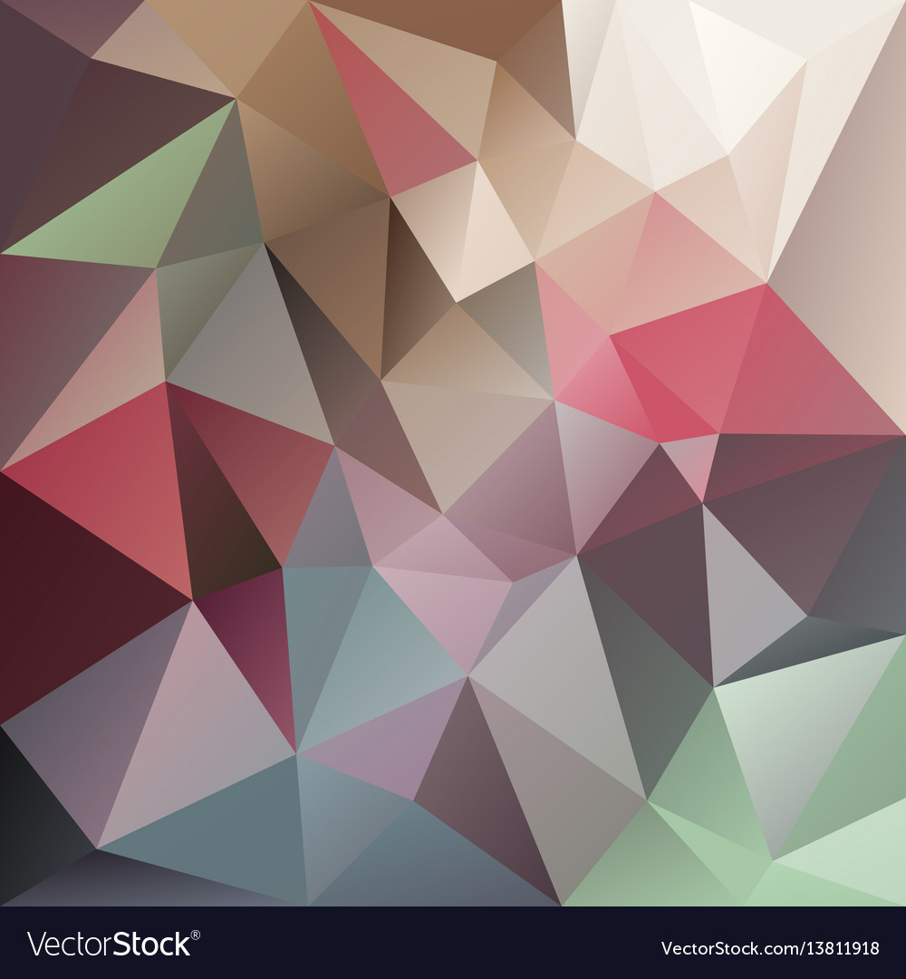 Abstract irregular polygon background