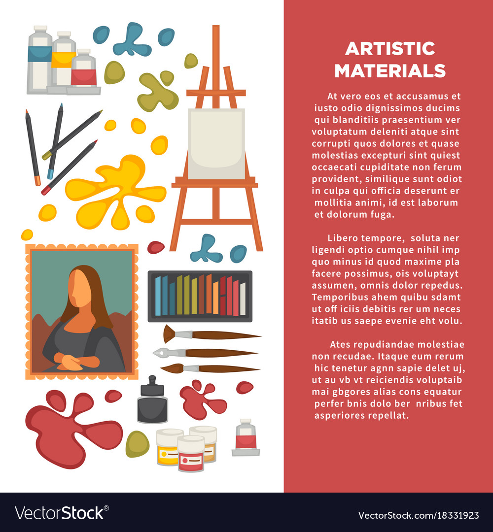 Creative Poster Colour Painting Designs