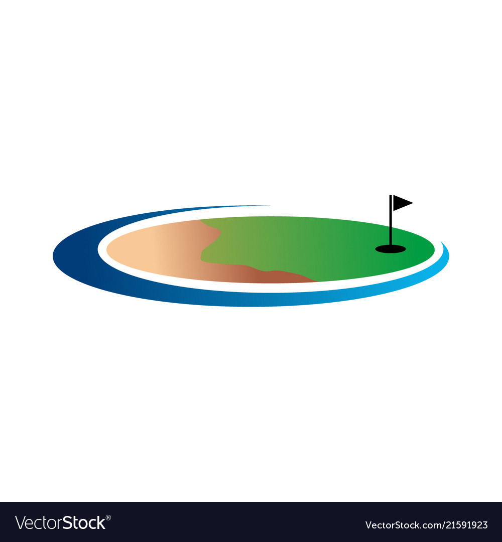 Golf land logo