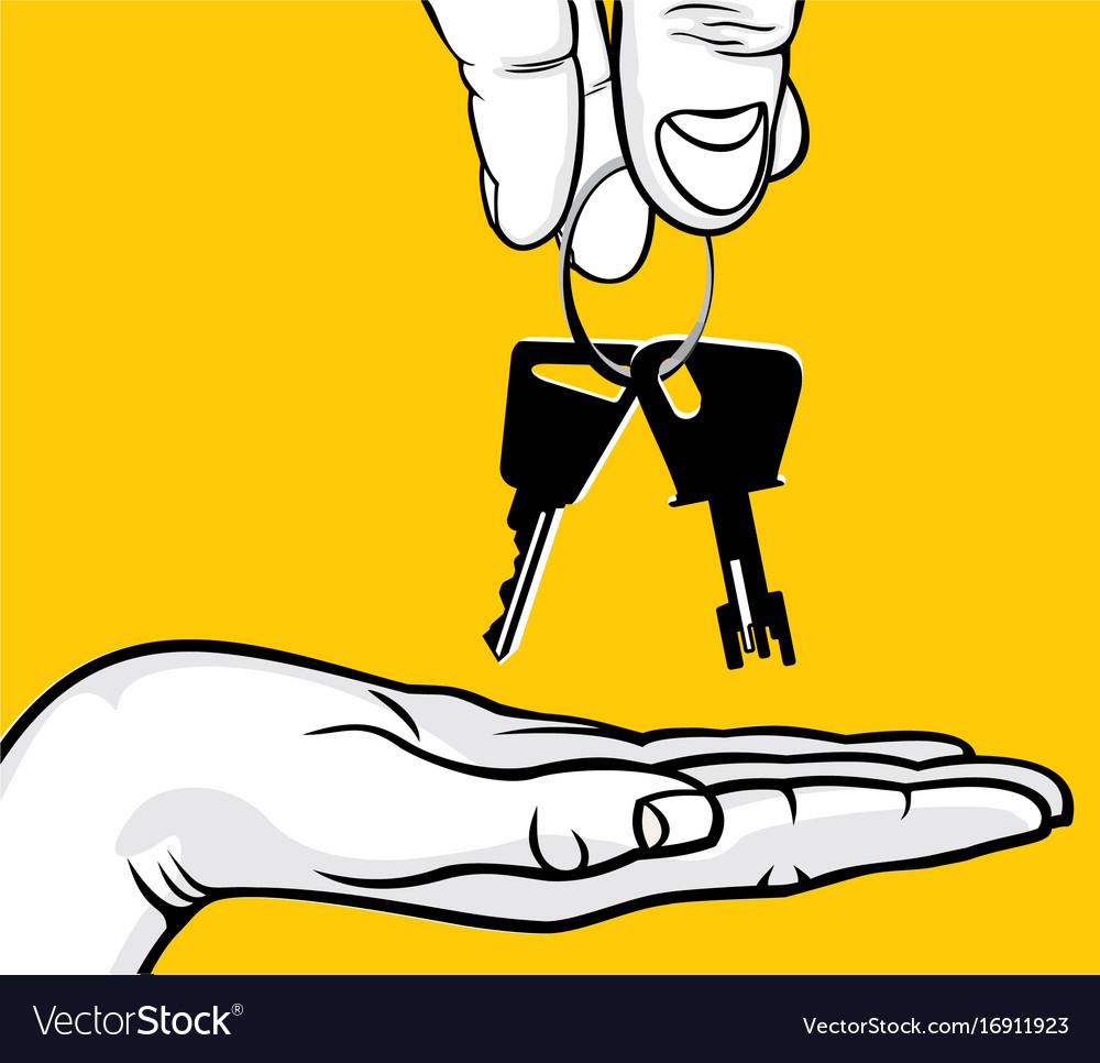 Handover of the keys