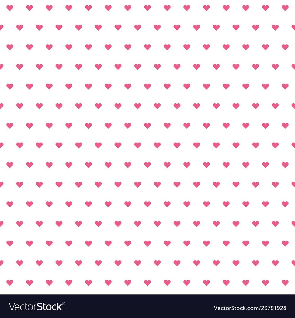 Hearts pattern valentine day background