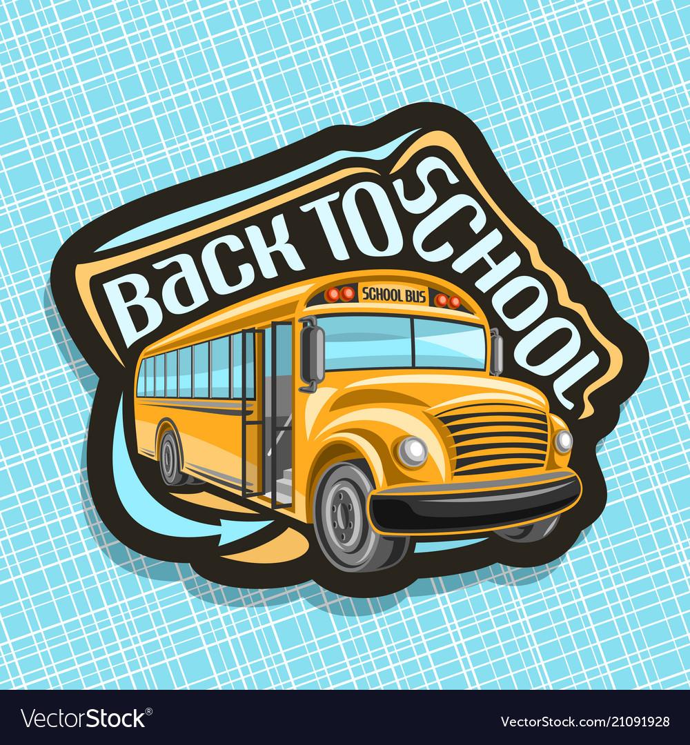 Logo for school bus