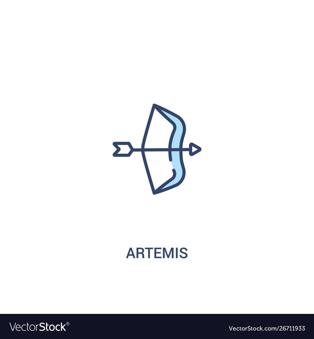 Artemis Concept 2 Colored Icon Simple Line