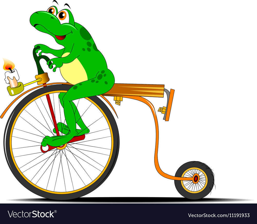 Cartoon frog design