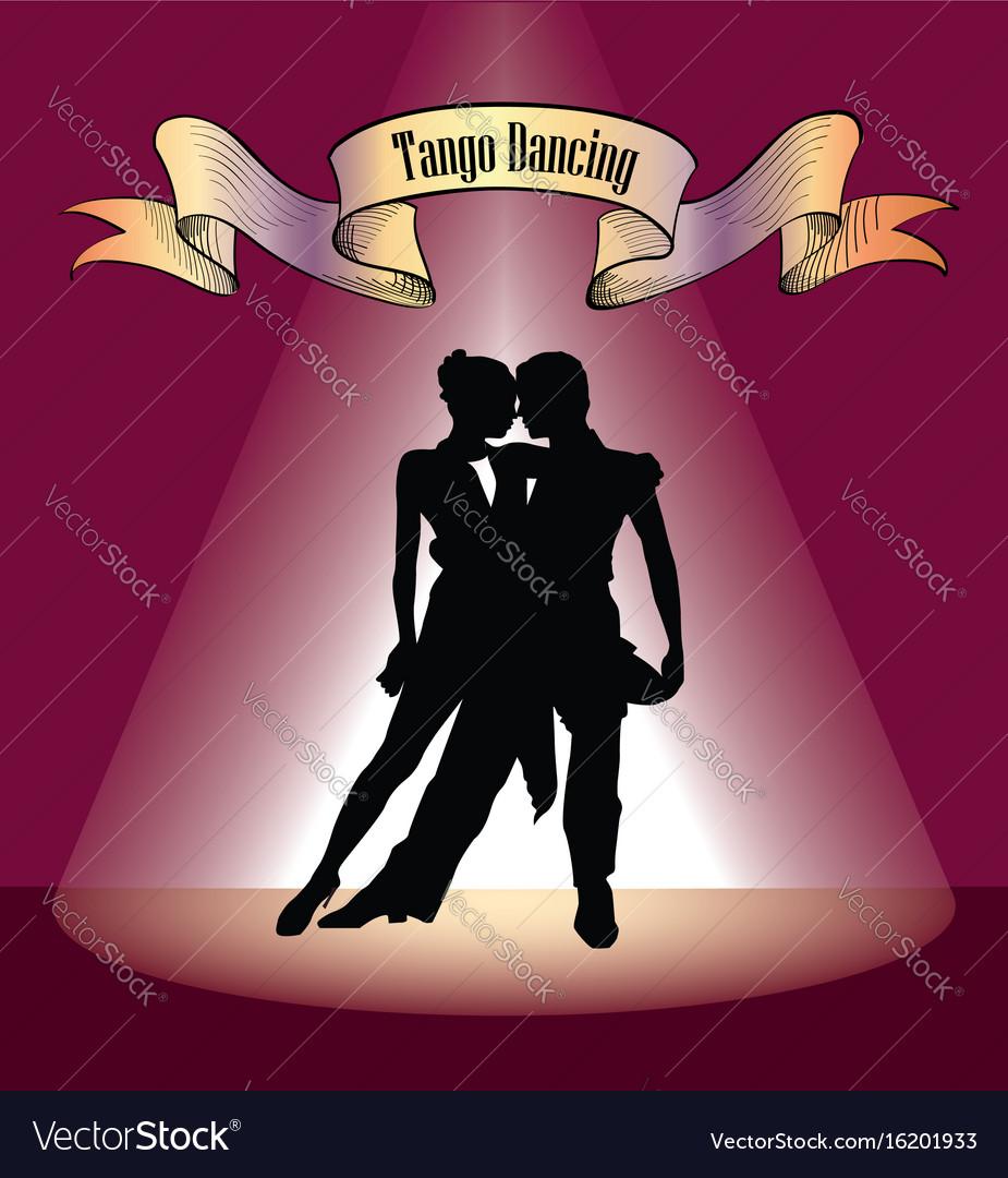 Dancing club poster couple dancing beautiful