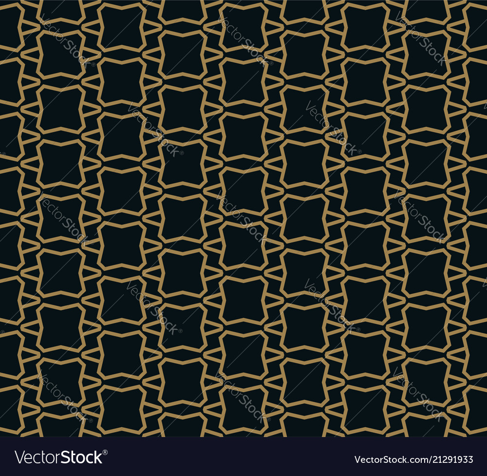 Seamless pattern of intersecting thin gold lines